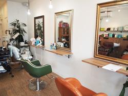 hair salon door